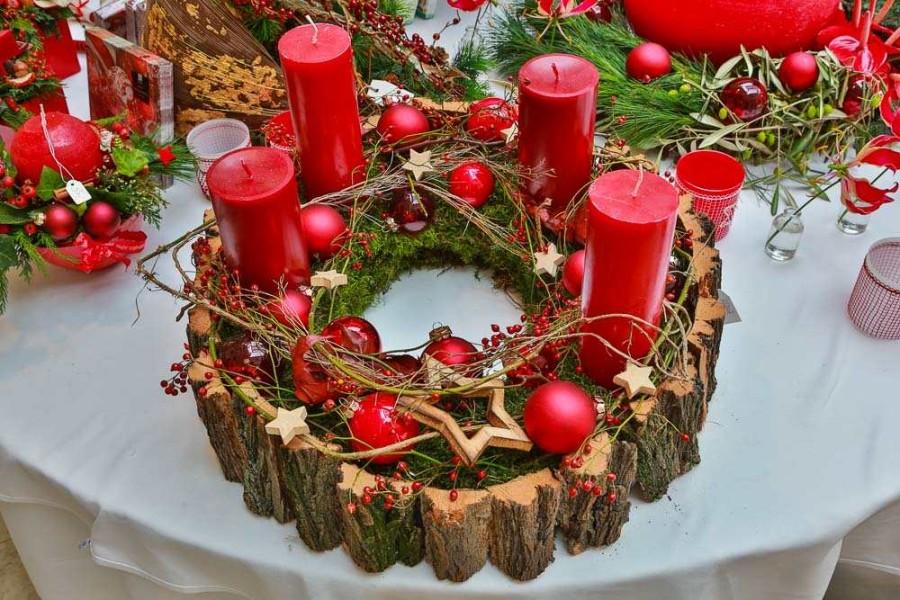 Adventsausstellung weihnachtsausstellung floristik 2016 for Weihnachtstrends 2016 floristik