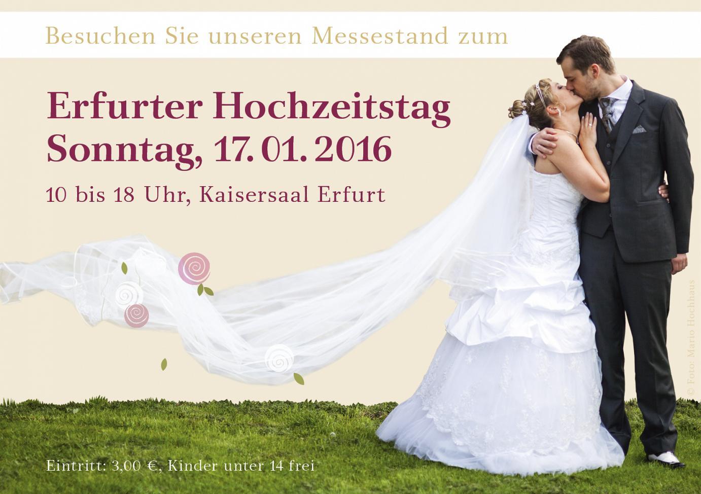 22. Erfurter Hochzeitstag - 17.01.2016
